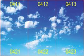 Modus IBS - 32W 4100lm - Motiv Himmel/Wolken